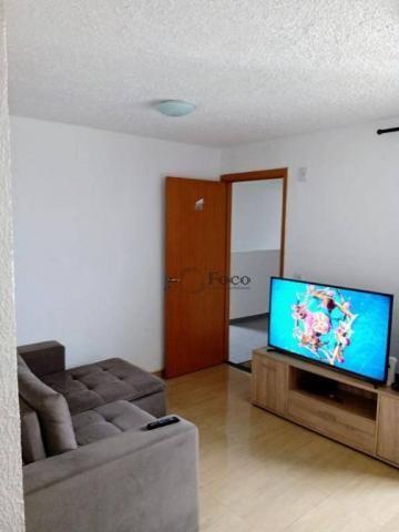 Apartamento com 2 dormitórios para alugar, 45 m² por R$ 650/mês - Água Chata - Guarulhos/S - Foto 3