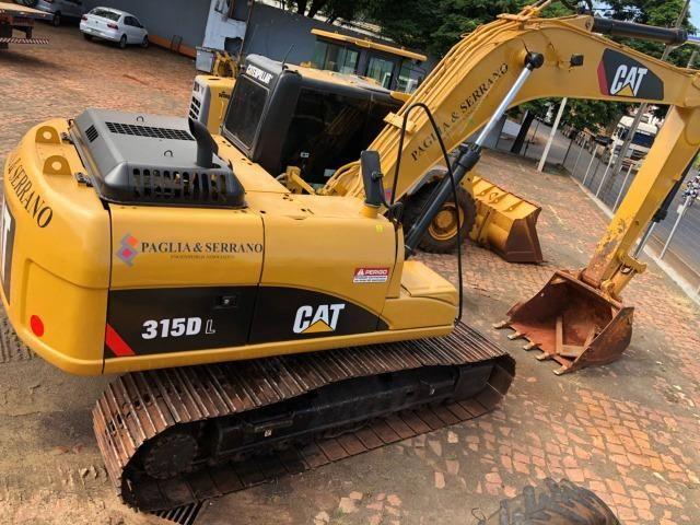 Escavadeira Cartepillar 315D ano 2008 em otimo estado - Foto 4