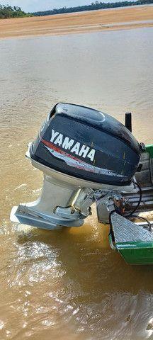 Vendo um motor de popa 40 HP Yamaha  - Foto 3