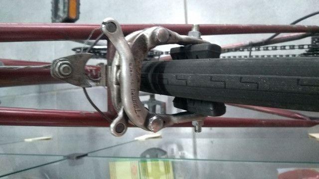 Bicicleta de corrida antiga - Foto 5