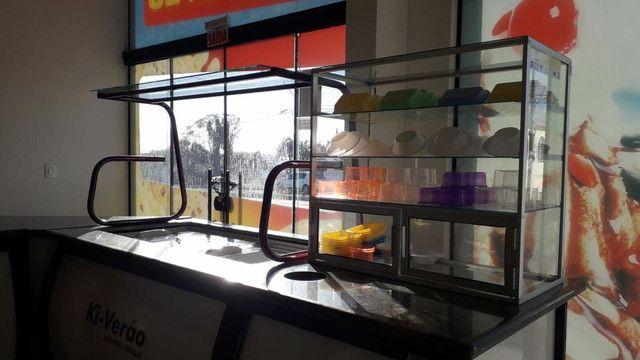 Buffet de sorveteria e mesas  - Foto 3