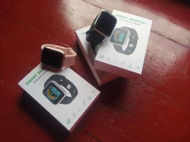 Relógio smartwatch D20/Y68 ideal para presentear neste dia das mães - Foto 3
