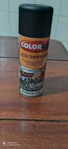 spray de Alta temperatura, na cor preta - Foto 4