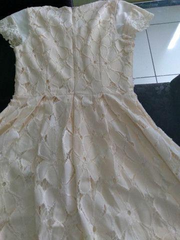 Vendo vestido de Renda  - Foto 2