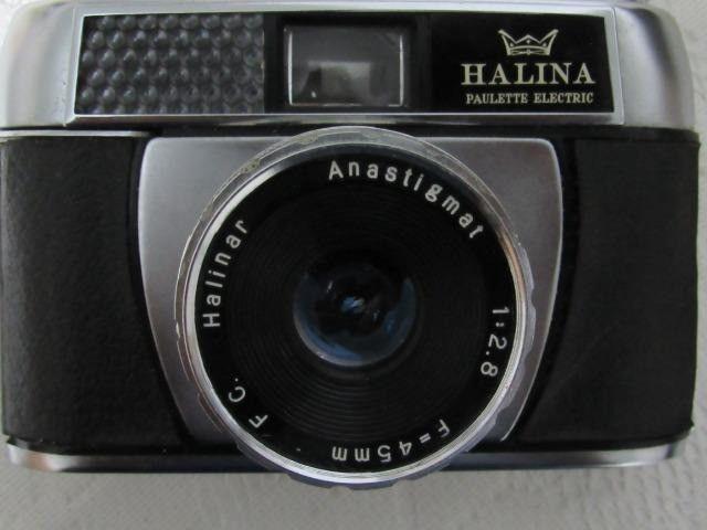 Máquina antiga fotográfica Halina Paulette - Foto 2
