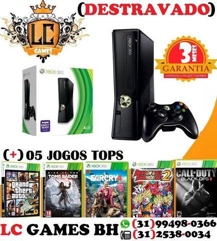 Xbox 360 Destravado - Xbox 360