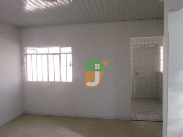 Casa com 1 dormitório para alugar, 50 m² por R$ 890,00/mês - Uberaba - Curitiba/PR - Foto 3