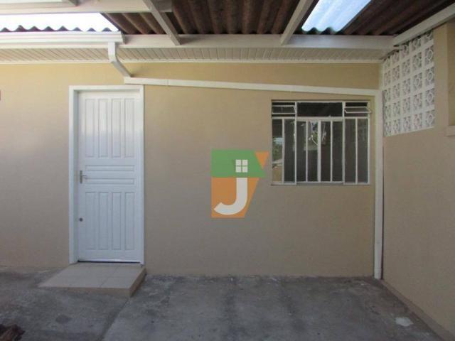 Casa com 1 dormitório para alugar, 50 m² por R$ 890,00/mês - Uberaba - Curitiba/PR - Foto 8