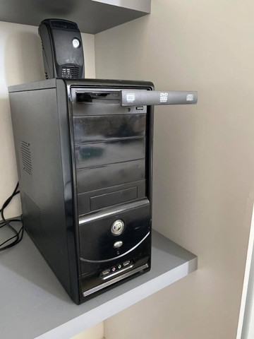 Computador (Cpu + Monitor de Brinde) - Core 2 Duo - 2 GB - Foto 3
