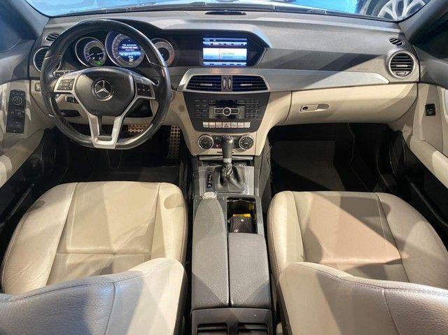 Mercedes-Benz C250 CGI SPORT 1.8 16V TB Automático 2013/2013 configuração Linda  - Foto 6