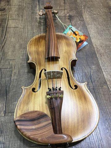 Violino 4/4 Nhureson Maestro Alegretto Profissional serie limitada araucaria premium Ccb - Foto 6