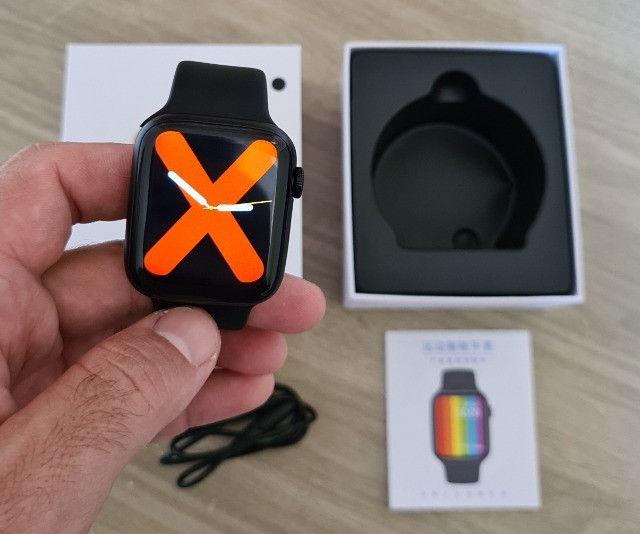 Smartwatch iwo 13 w26 tela infinita a prova d'agua - Original - Foto 2