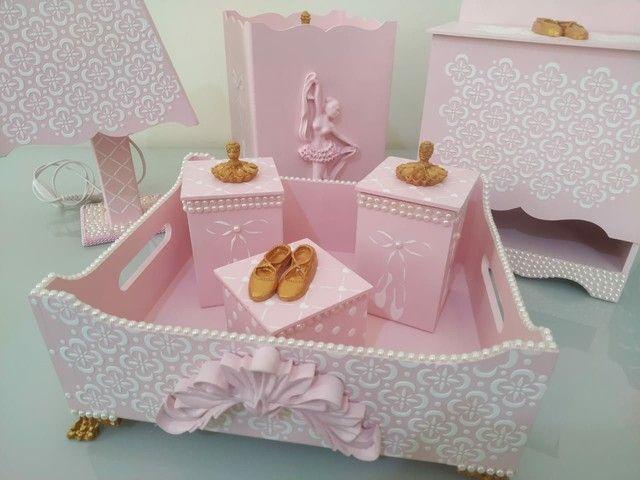Kit higiene bebê luxo - Foto 4