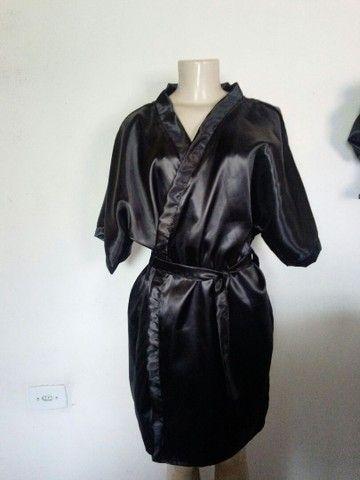 Conjunto de robe e Touca e fronha - Foto 3