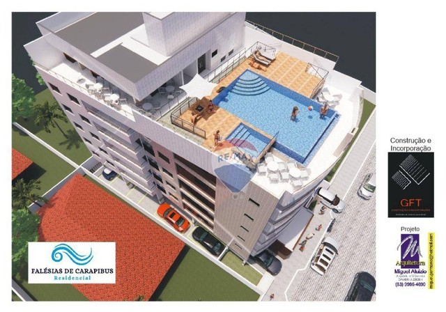 Excelente apartamento em construção - Carapibus - CONDE/PB - Foto 3
