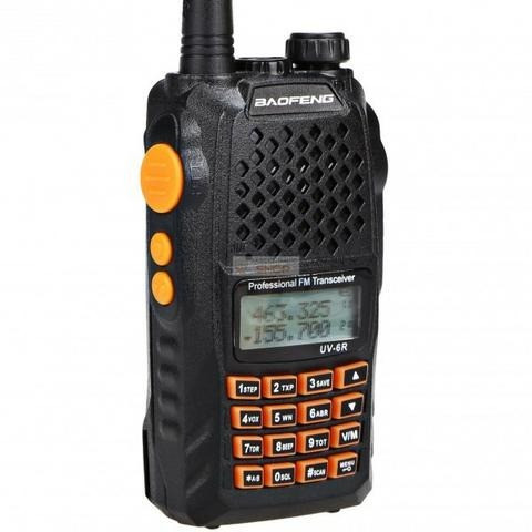 Rádio Ht Uv-6r Comunicador Baofeng Dual Band Uhf + Vhf 7w - Foto 3