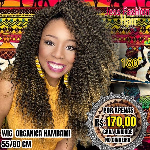 Wig KamBami fibra Futura R$:170,00 - Foto 4