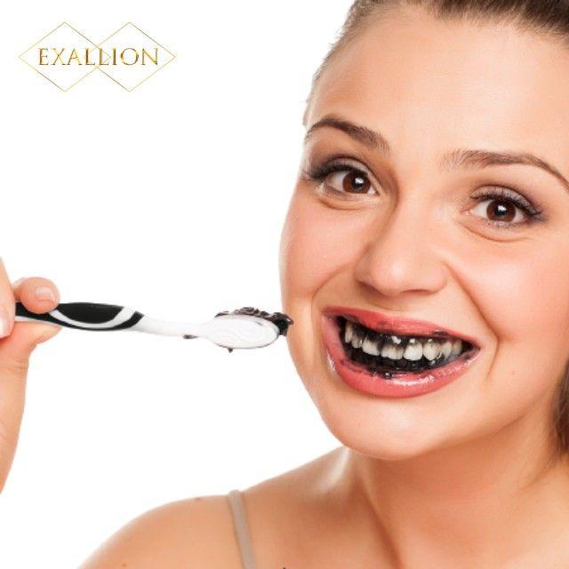 Gel Dental Clareador Com Carvão Ativado ''Vitae Black White'' - Foto 4