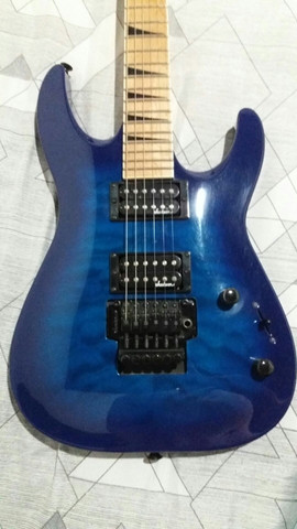 Jackson Dinky JS32 DKA-M Transparent Blue