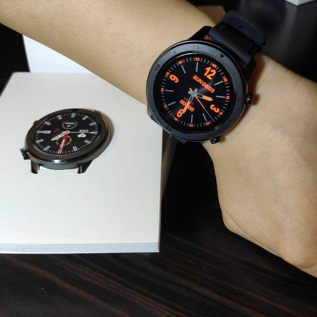 Smartwatch No.1 DT78 tipo Amazfit GTR - Foto 2