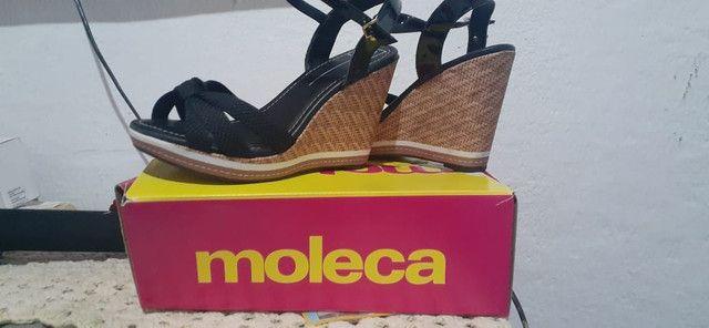 Sandália Salto Plataforma l