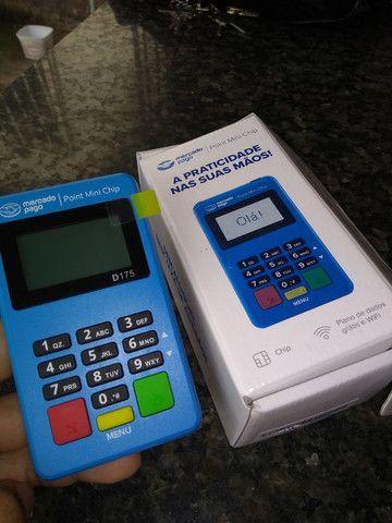 Máquina de cartão Point Mini chip - Foto 2