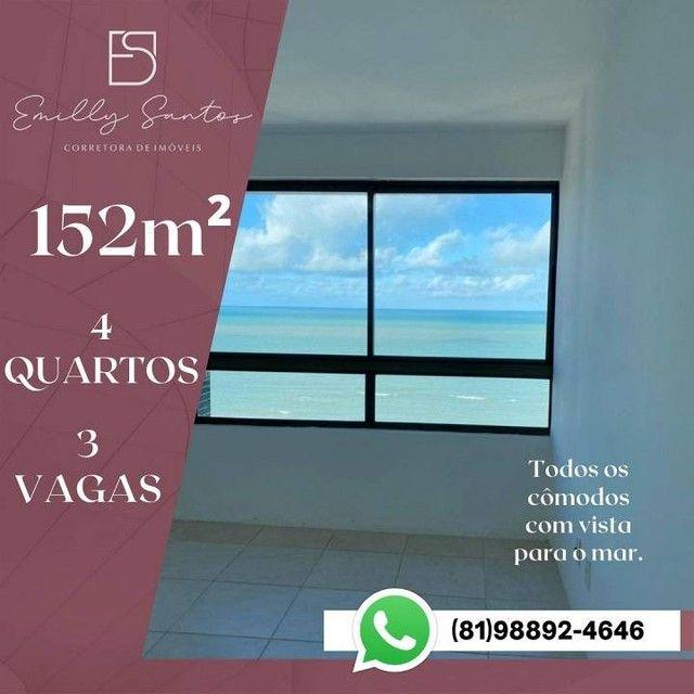 Apartamento para venda com 152 metros quadrados com 4 quartos em Pina - Recife - PE - Foto 5