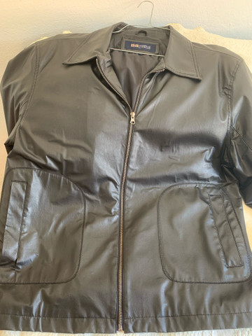 Jaqueta de couro masculina  - Foto 6