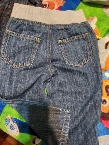 Lote calças tamanho 1/2 meninos - lote1 - Foto 4