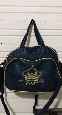 Bolsa azul de bebê  - Foto 5