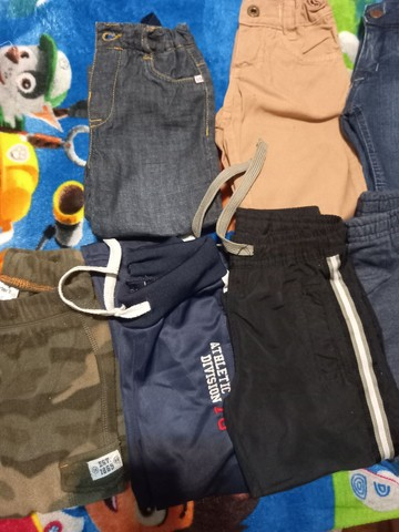Lote calças tamanho 1/2 meninos - lote1 - Foto 2