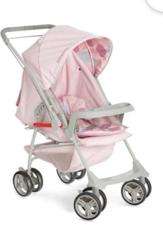 Carrinho para bebê e bebê conforto