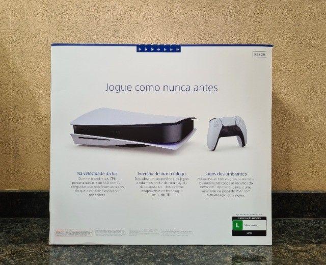 Playstation 5 PS5 Novo, Lacrado, Nota Fiscal e Garantia - 10x de 529,90 - Foto 3
