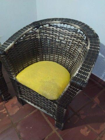 Jogo de sofá com 2 poltronas - Foto 4