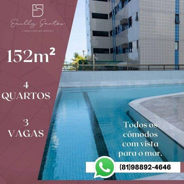 Apartamento para venda com 152 metros quadrados com 4 quartos em Pina - Recife - PE - Foto 7