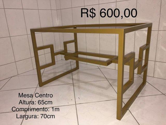 Móveis em metal. Peças ÚNICAS e EXCLUSIVAS. - Foto 3