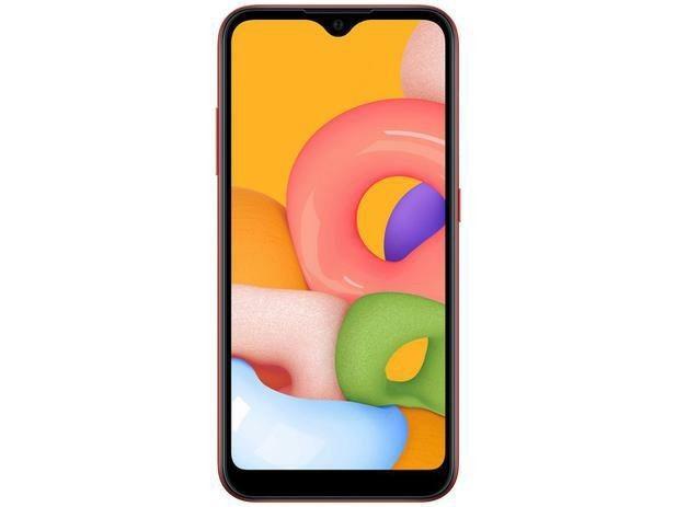 Smartphone Samsung Galaxy A01 32GB  NOVO - Foto 2