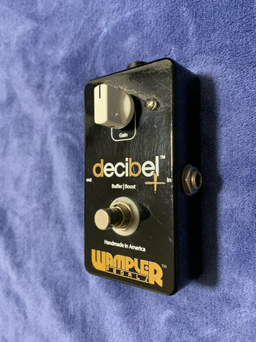 Pedal Booster - Wampler Decibel Buffer Boost - Made In Usa - Foto 2