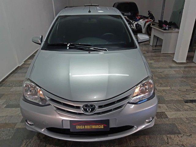 Toyota Etios X 1.3 completo / Multimidia Original / Pneus novos / Ipva Pago - 2016 - Foto 7