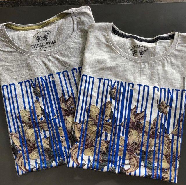 Camisas masculinas do P ao GG - Foto 6