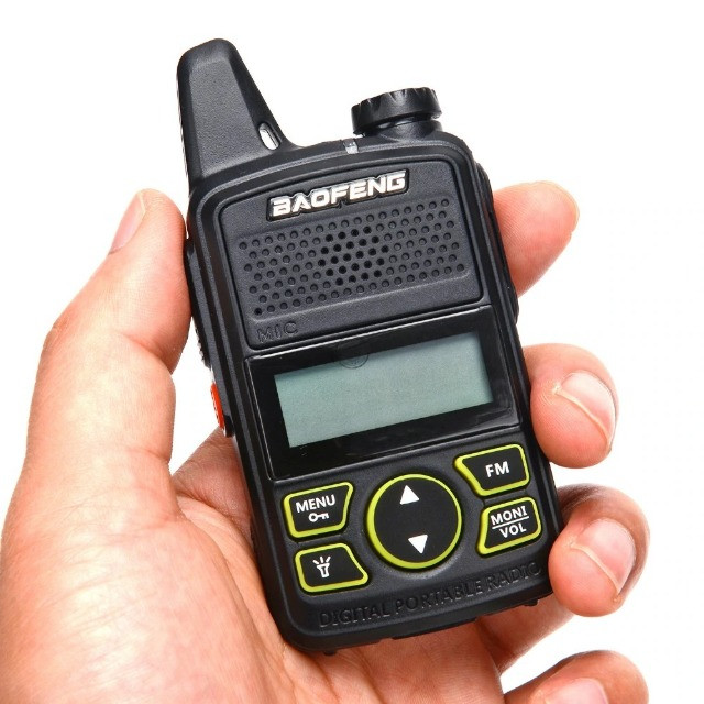 Baofeng Walkie Talkie Bf-t1 Mini Rádio Uhf 400-480mhz