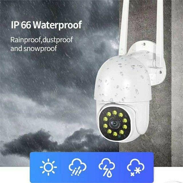 Câmera Wifi monitorada por celular a prova d'água