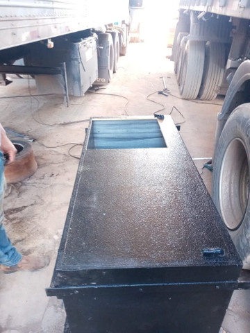 Caixa de cozinha e geladeira 85 litros de caminhão  - Foto 3