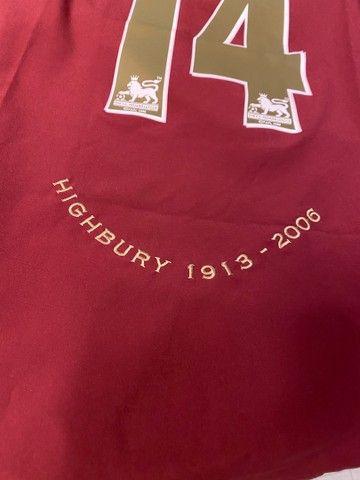 Camisa Arsenal 05-06 Henry - Foto 6