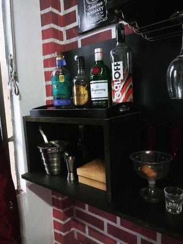Bar Suspenso com Adega em MDF - Foto 3