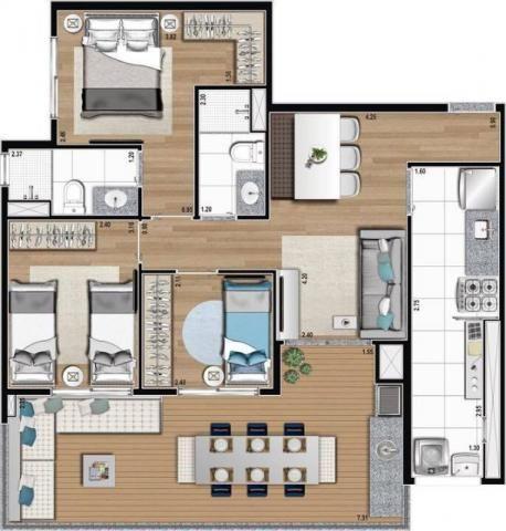 Condomínio Moov Vila Prudente 3 Dormitórios com suite ao lado do metro: - Foto 20
