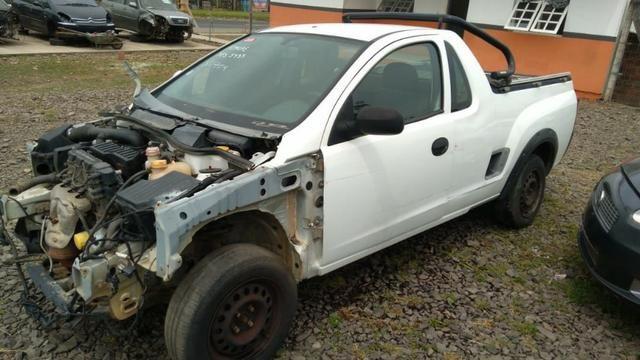Sucata Chevrolet Montana 1 4 Flex 2009 Vendido Somente Em Pecas