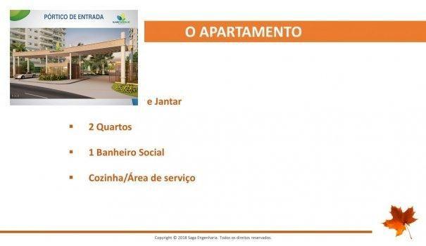 BELLEVILLE - Apartamento em Lançamentos no bairro Forquilha - São Luís, MA - Foto 8