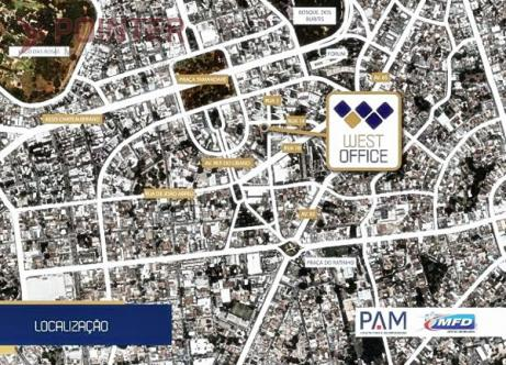 Comercial sala no West Office Comercial - Bairro Setor Oeste em Goiânia