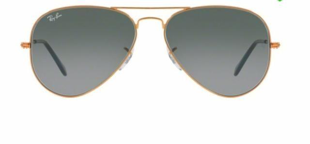 591c7eab1 Óculos de Sol Ray Ban Aviador RB3025 Bronze Lente Cinza Degradé Tam 58  ORIGINAL